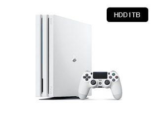 PlayStation4 Pro に「グレイシャー・ホワイト」登場!-先行予約販売開始