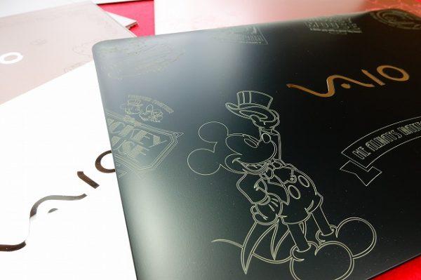 【お知らせ】VAIO S Line  Disneyキャラクターデザインの天板サンプル展示!