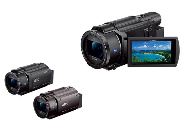 ソニー 新型4Kハンディカム「FDR-AX60」「FDR-AX45」-先行予約開始!