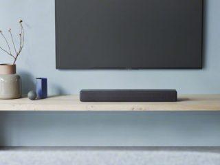 新製品 テレビ前に手軽に置きやすいサイズのサウンドバー「 HT-S200F 」「 HT-S100F 」発売!