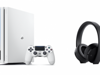 PlayStation4 Pro の「グレイシャー・ホワイト」数量限定で再登場!