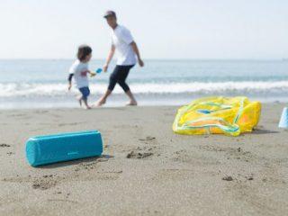 この夏、海辺でも使える!-ソニー重低音スピーカー「 EXTRA BASS 」3モデル発売