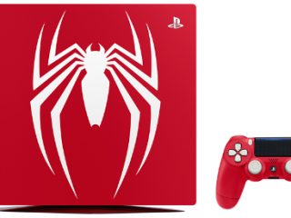 "PS4 Proに""スパイダーマン""特別モデル登場!数量限定・先行予約開始"