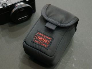PORTERオリジナルカメラケース レビュー |RX100M6 での使い勝手の確認!