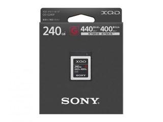 新製品|大容量XQDメモリーカード「QD-G240F」「QD-G120F」価格比較!