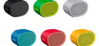 新製品|手のひらサイズなのに迫力の重低音!ワイヤレススピーカー「 SRS-XB01 」