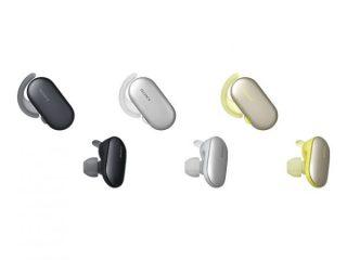 新製品|音楽再生機能内蔵で海でも使える!完全ワイヤレス イヤホン「 WF-SP900 」