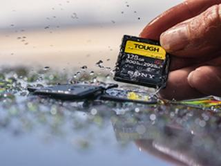 新製品|防水防塵で衝撃にも強い!UHS-II SDカード「 SF-G TOUGH 」発表