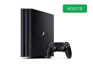 新製品| PlayStation4 Pro ジェット・ブラック 2TB が登場!11月21日発売