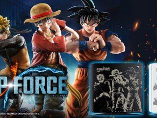 数量限定|ソフト同梱「 PS4用トップカバー JUMP FORCE Edition 」登場!2月14日(木)発売