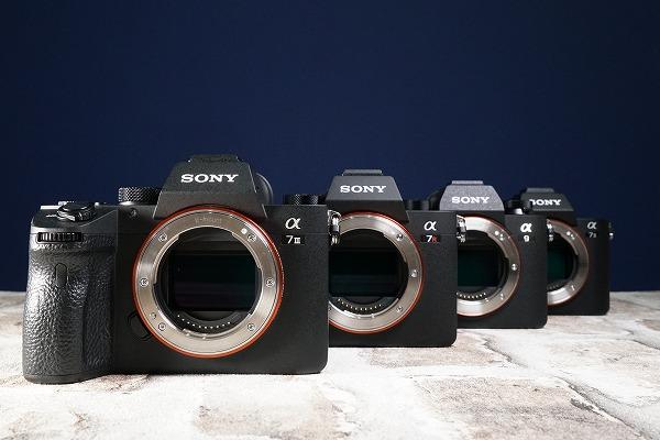 ソニーのミラーレス一眼カメラ