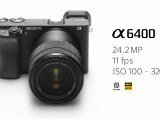 海外情報|ソニーAPS-C ミラーレスカメラ α6400 (ILCE-6400)発表