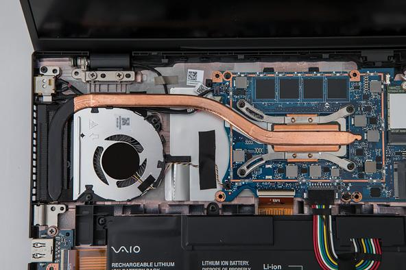 VAIO SX14のVAIO TruePerformance