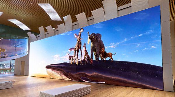 ソニー みなとみらい21 地区にオープンする資生堂の新研究所「資生堂グローバルイノベーションセンター」に「Crystal LED ディスプレイシステム」を納入