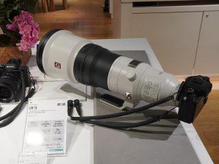 先行予約スタート!|600㎜大口径超望遠単焦点レンズ『 SEL600F40GM 』