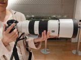 ソニーストア銀座で体感!600㎜レンズ FE200-600mm F5.6-6.3 G OSS『 SEL200600G 』レビュー