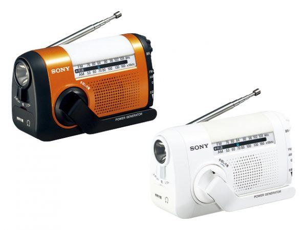 ソニー 手回し充電ラジオ「ICF-B09」「ICF-B99」受注再開へ