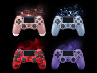 PS4ワイヤレスコントローラー「DUALSHOCK4」に4種類の新色が数量限定で登場!