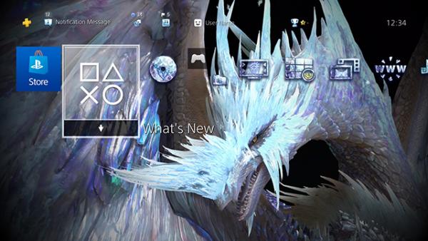PS4用ダイナミックテーマ「イヴェルカーナ」