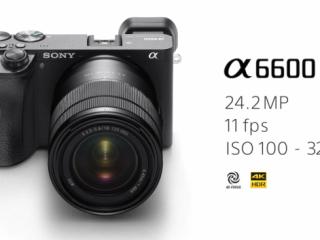海外情報|ソニー カメラ&レンズ「 α6600 / α6100 」「 SEL1655G / SEL70350G 」発表!