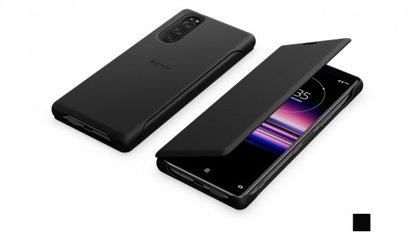 Xperia 5 Style Cover Leather(SCLJ10)