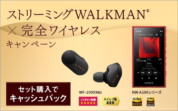 ストリーミングWALKMAN×完全ワイヤレスキャンペーン
