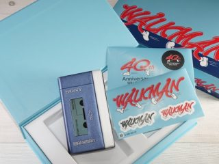 ウォークマン 40周年記念モデル NW-A100TPS