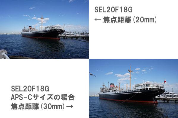 SEL20F18G レビュー
