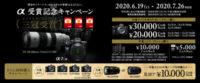 間もなく終了 カメラグランプリ2020三冠受賞 α受賞記念キャンペーン