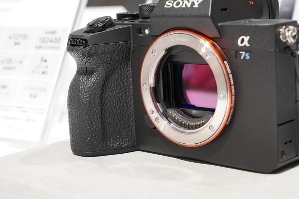 ソニーミラーレス一眼 カメラ α7S III