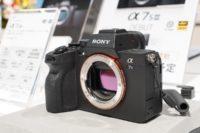 ソニーミラーレス一眼 カメラ α7S III( ILCE-7SM3 )