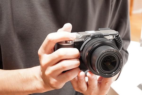 ソニーミラーレス一眼 カメラ α7C