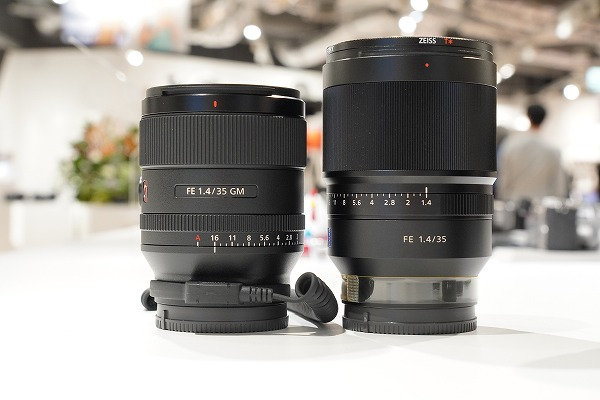 FE 35mm F1.4 GM比較