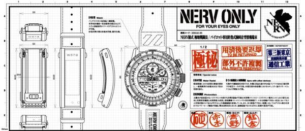 wena 3 -NERV EDITION-/-NERV EDITION- complete set