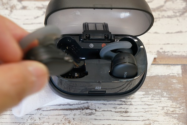 ソニー防水・メモリー搭載のワイヤレスヘッドホン WF-SP900