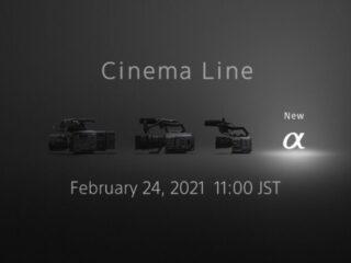 ソニー 新型α Cinema Line カメラのティザーサイトを公開!