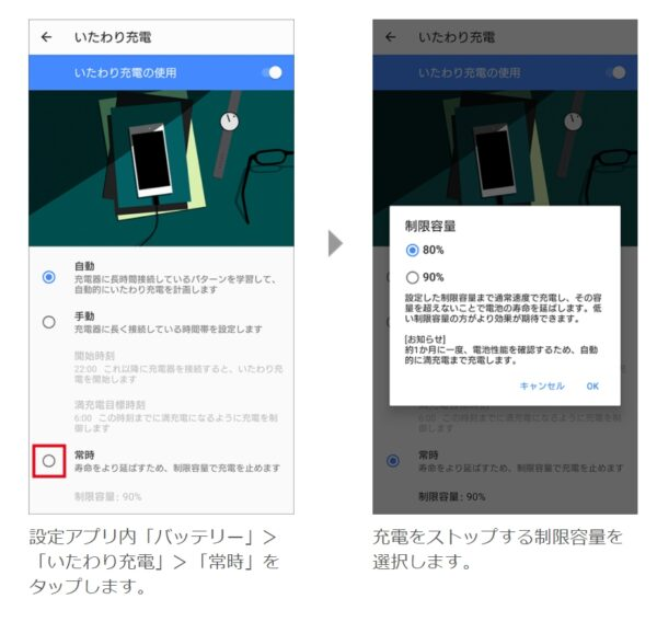 Xperia 1 II(XQ-AT42)バッテリー