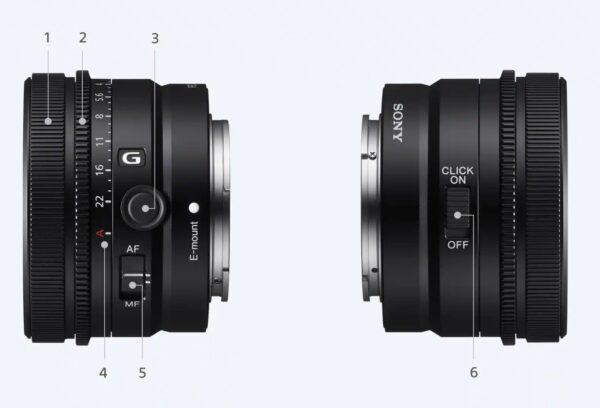 FE50mmF2.5G、FE40mmF2.5G 、FE24mmF2.8G