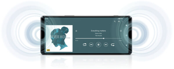 Xperia 1 II(XQ-AT42)オーディオ