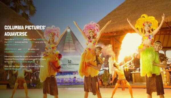 ソニー、タイにコロンビア映画のテーマパークを10月に開業
