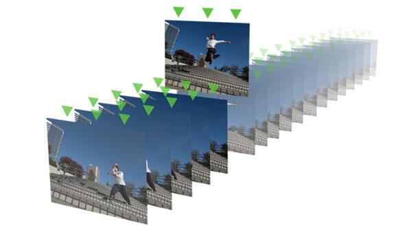 Xperia 1 III 最高20コマ/秒のAF/AE追従高速連写