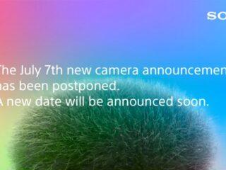 ソニー、7月7日23時予定の新型カメラの発表延期を発表