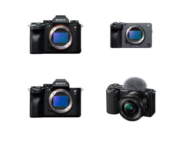 カメラ4モデル「ILCE-1」「ILCE-7SM3」「ILME-FX3」「ZV-E10」のソニー製品情報ページ及びカタログ掲載内容やヘルプガイド(WEB取説)に関する誤記のお知らせ