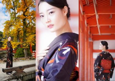 右近倫太郎の写真講座 秋色を活かした美しいポートレートの撮り方