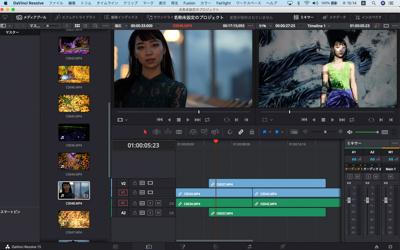 中西学の動画講座 動画編集ソフトDaVinci Resolveを使用した編集基本講座