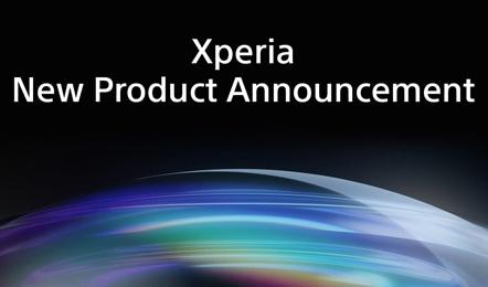 Xperia ティーザー公開! 10月26日(火)12時に新しいXperiaを発表。